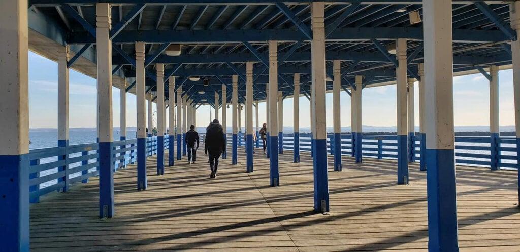 Fishing Pier at Rye Playland Rye NY