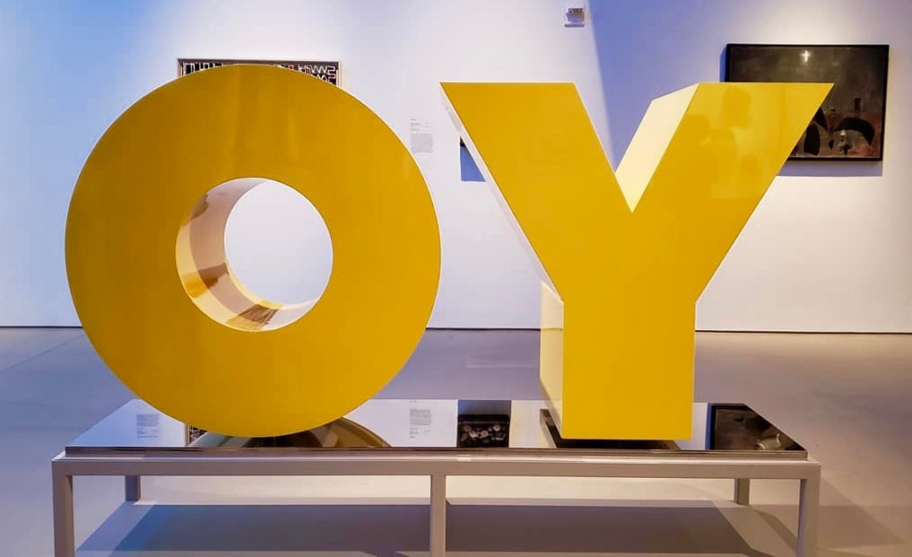 OY Sculpture Jewish Museum NYC