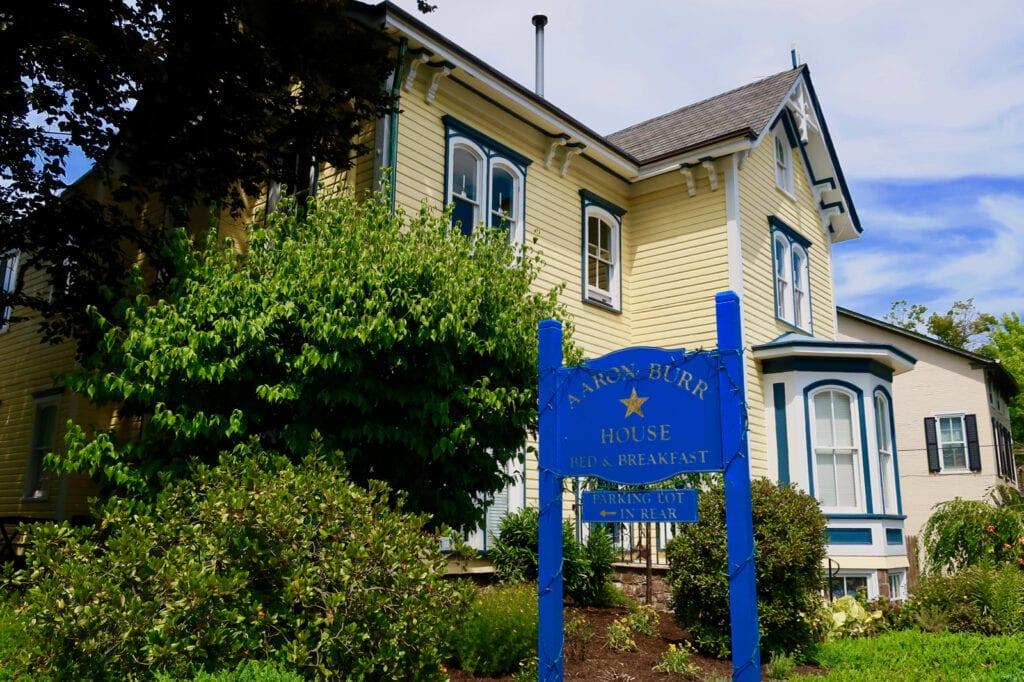 Aaron Burr House BnB New Hope PA