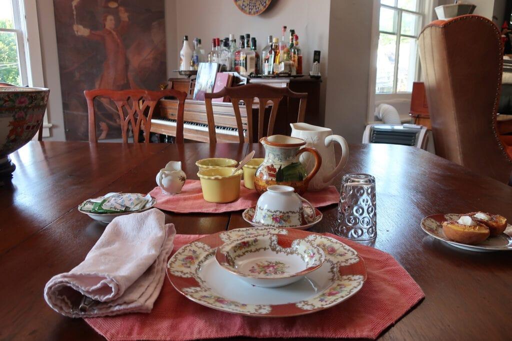 Breakfast Aaron Burr House New Hope PA