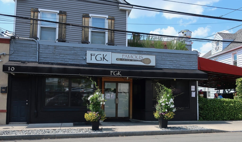FGK Famous Greek Kitchen Greenwich CT