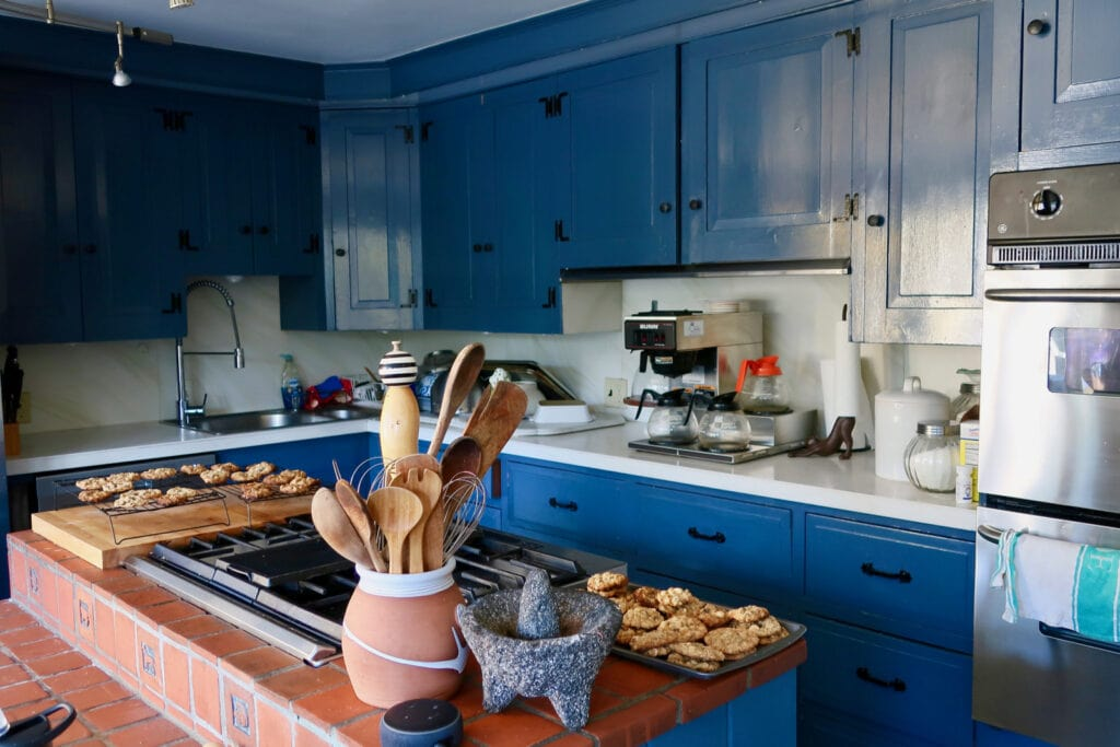 Afternoon cookies Aaron Burr House New Hope PA