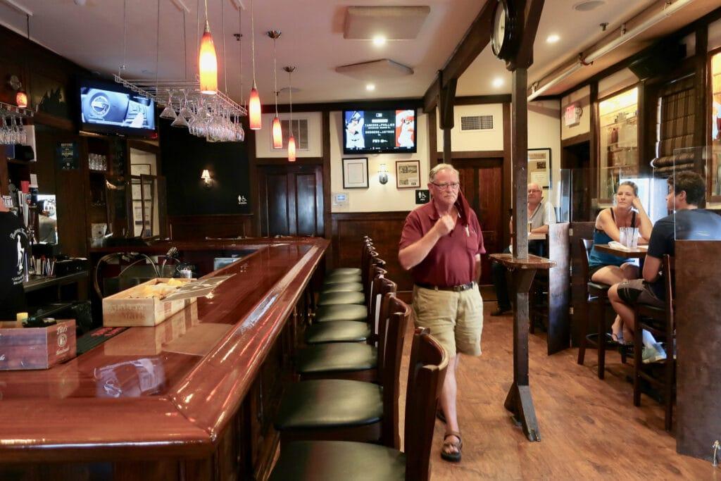 Inside The Continental Tavern Bucks County PA
