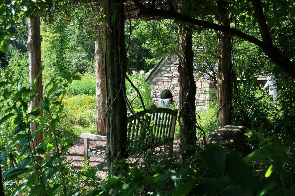 The Pond Bowmans Hill Wildflower Preserve Bucks County PA