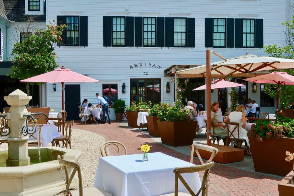 Artisan Restaurant Delamar Southport CT