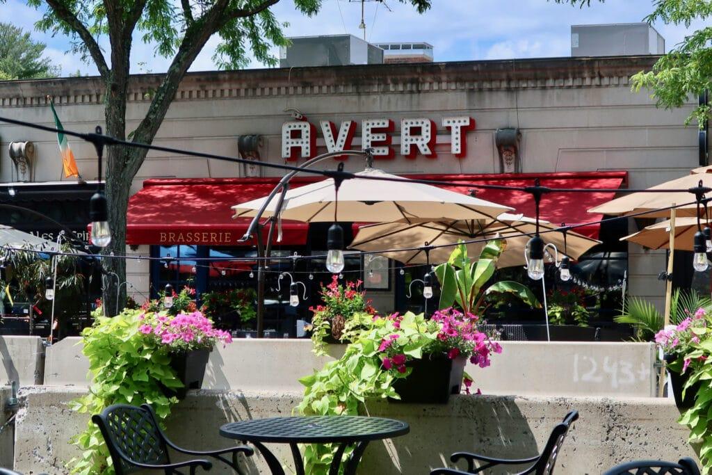 Avert Restaurant West Hartford CT