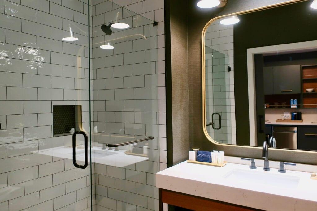 Bathroom The Black Hotel New Haven CT