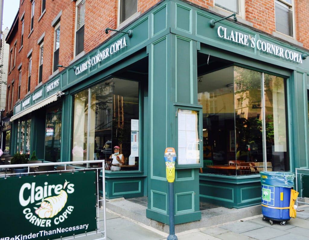 Claire's Corner Copia New Haven CT