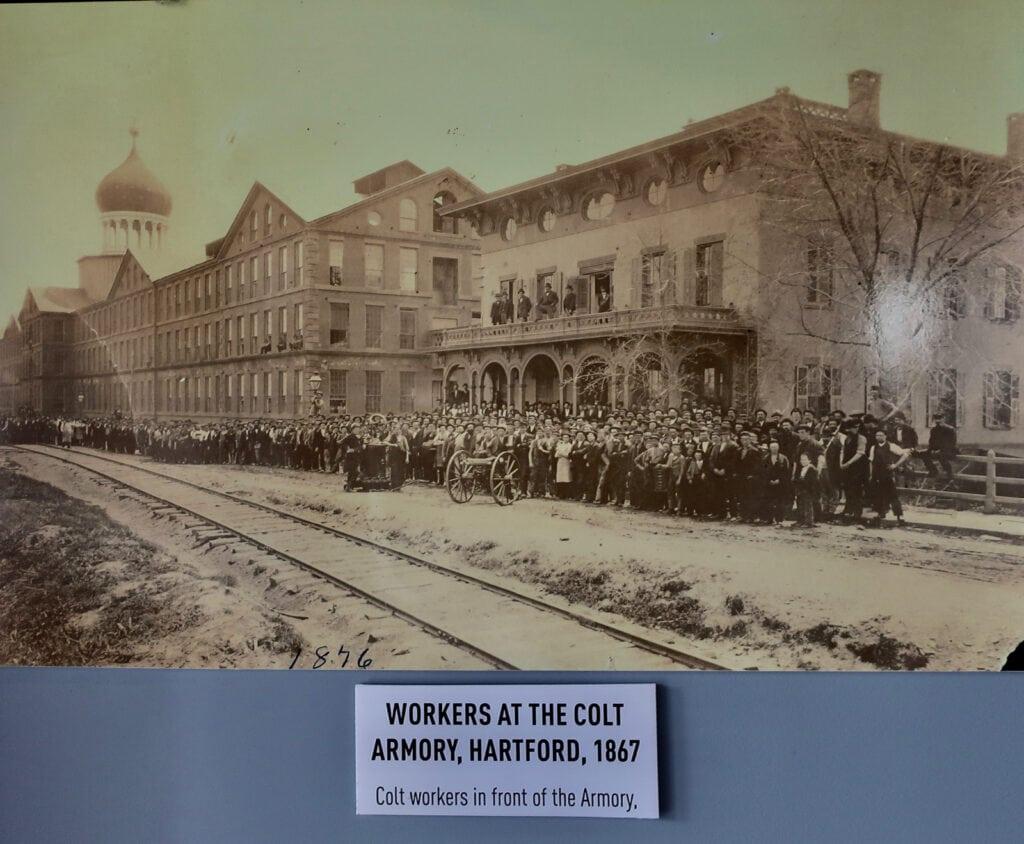 Colt Armory 1867 photo