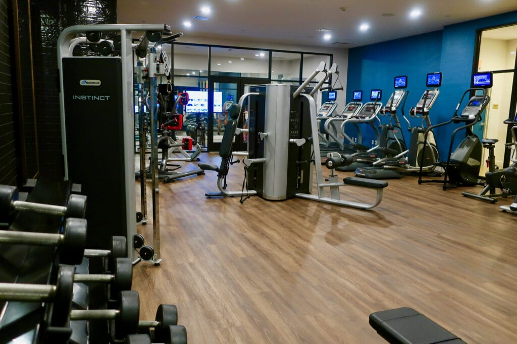 Fitness Room The Blake New Haven CT