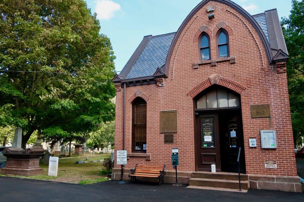 Grove Street Cemetery New Haven CT