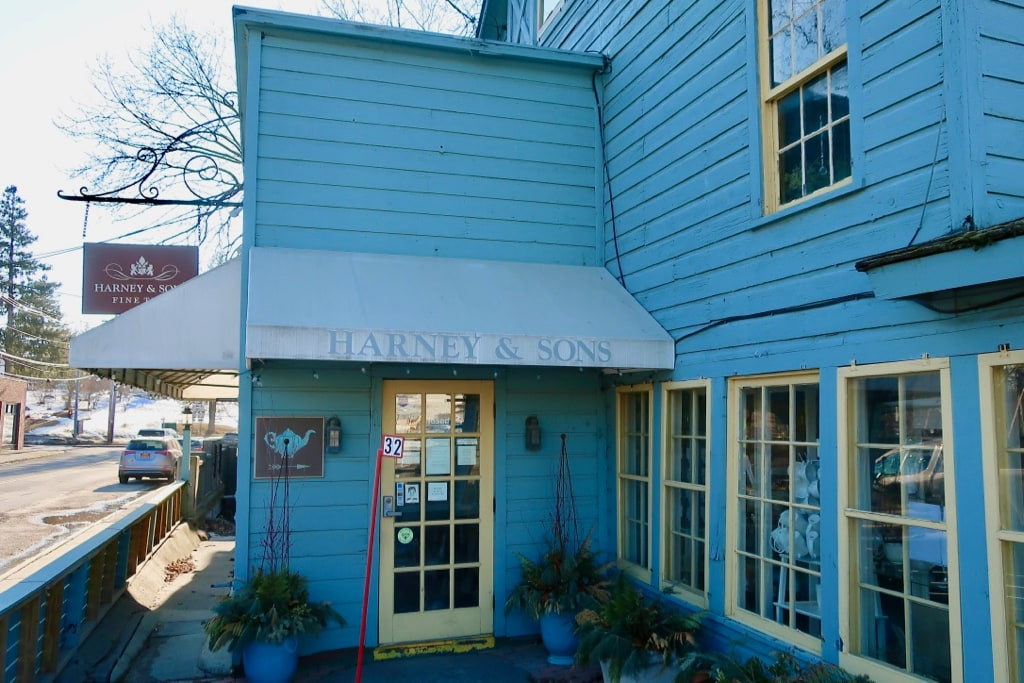 Harney and Sons Tea Shop Millerton NY