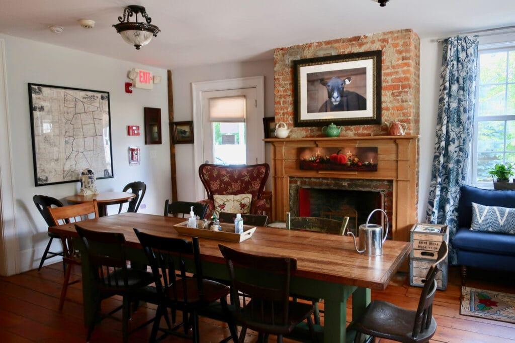 Inn at Pine Plains Dining Room