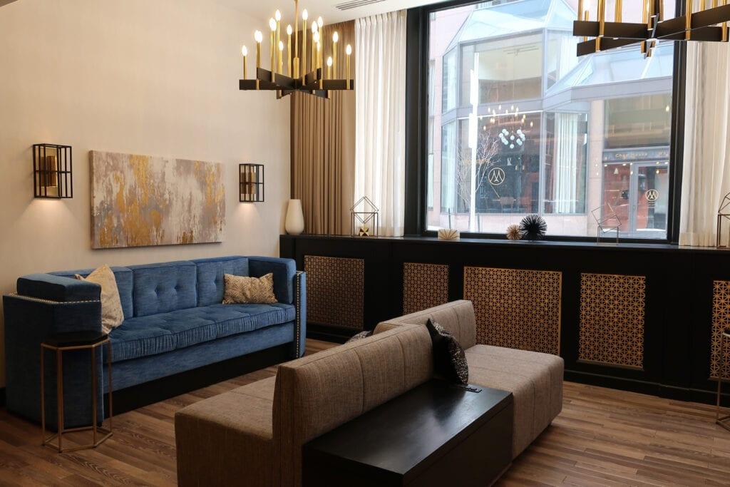 Lobby The Goodwin Hotel Hartford CT