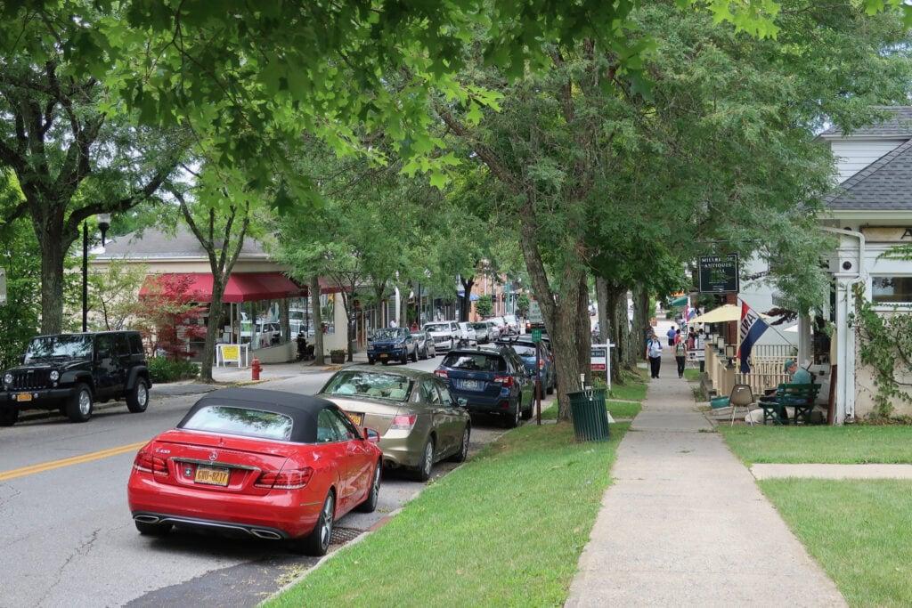 Millbrook NY downtown