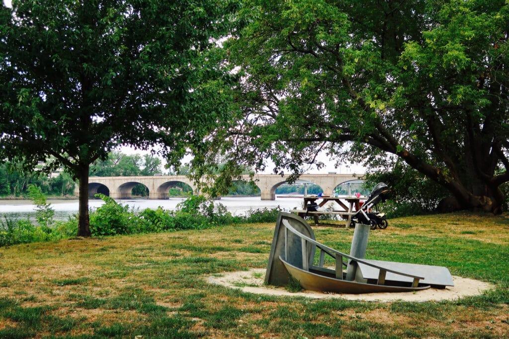 Riverfront park Hartford CT