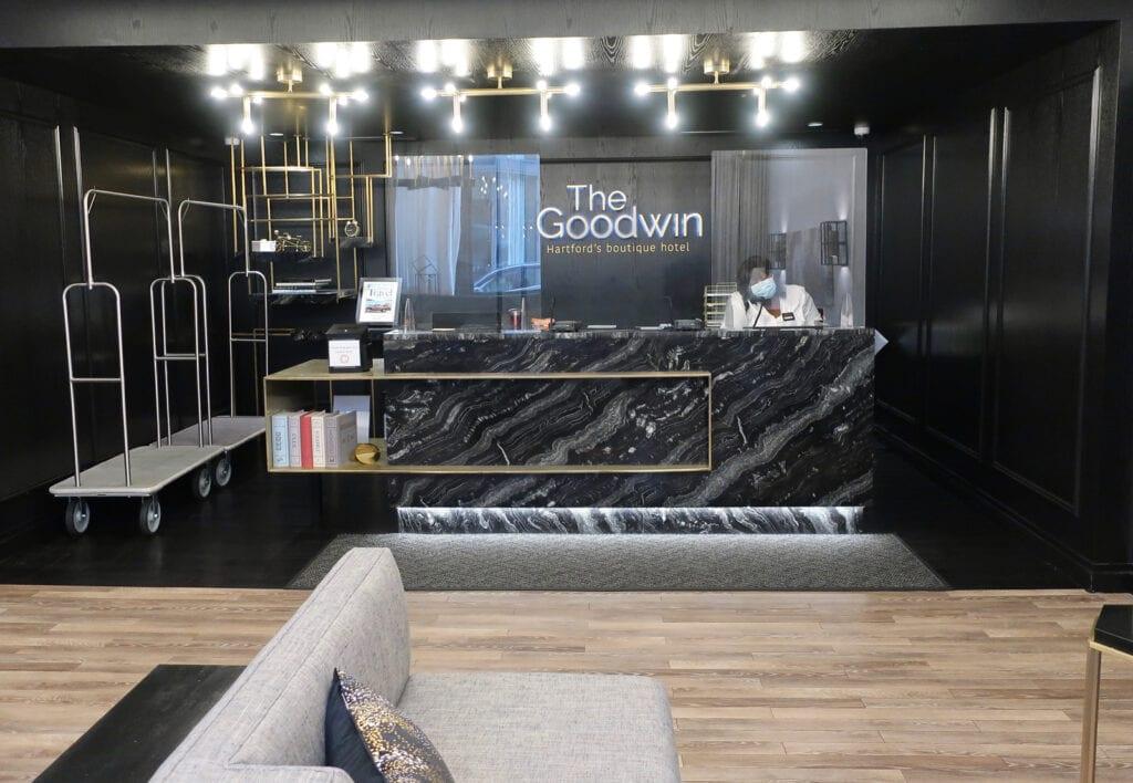 The Goodwin reception Hartford CT