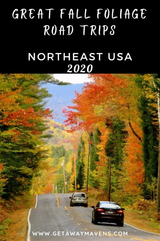 Fall Foliage Road Trips Northeast US Pin