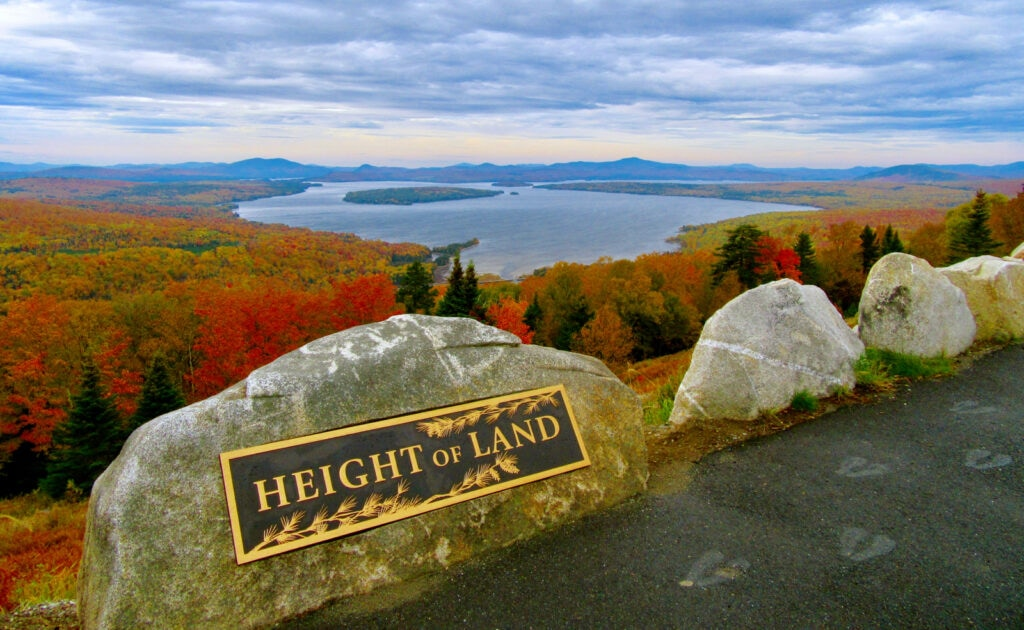 Height of the Land ME Fall Foliage