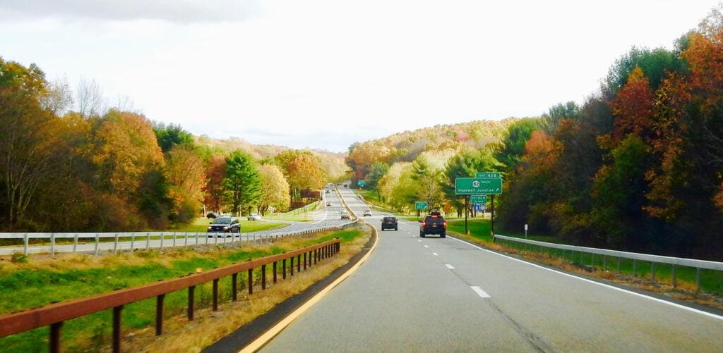Taconic Parkway NY in Fall