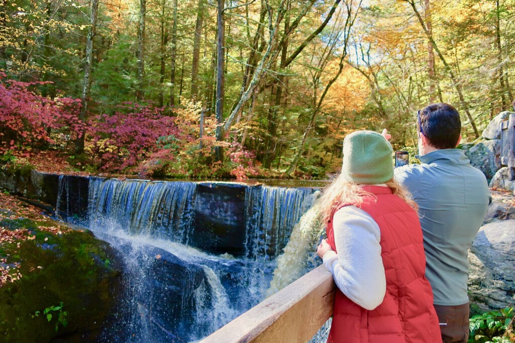 Waterfalls-Enders-State-Forest-Granby-CT