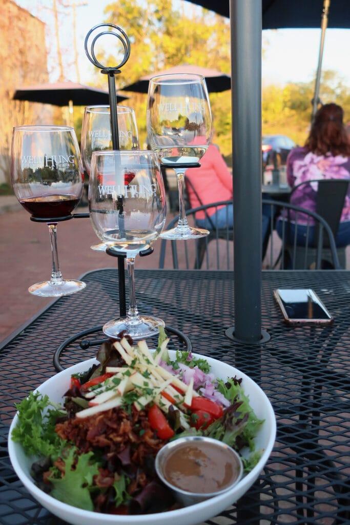 Wine-Flight-Well-Hung-Vineyard-Gordonsville-VA