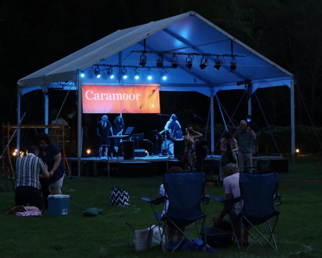 Caramoor night concert Katonah NY