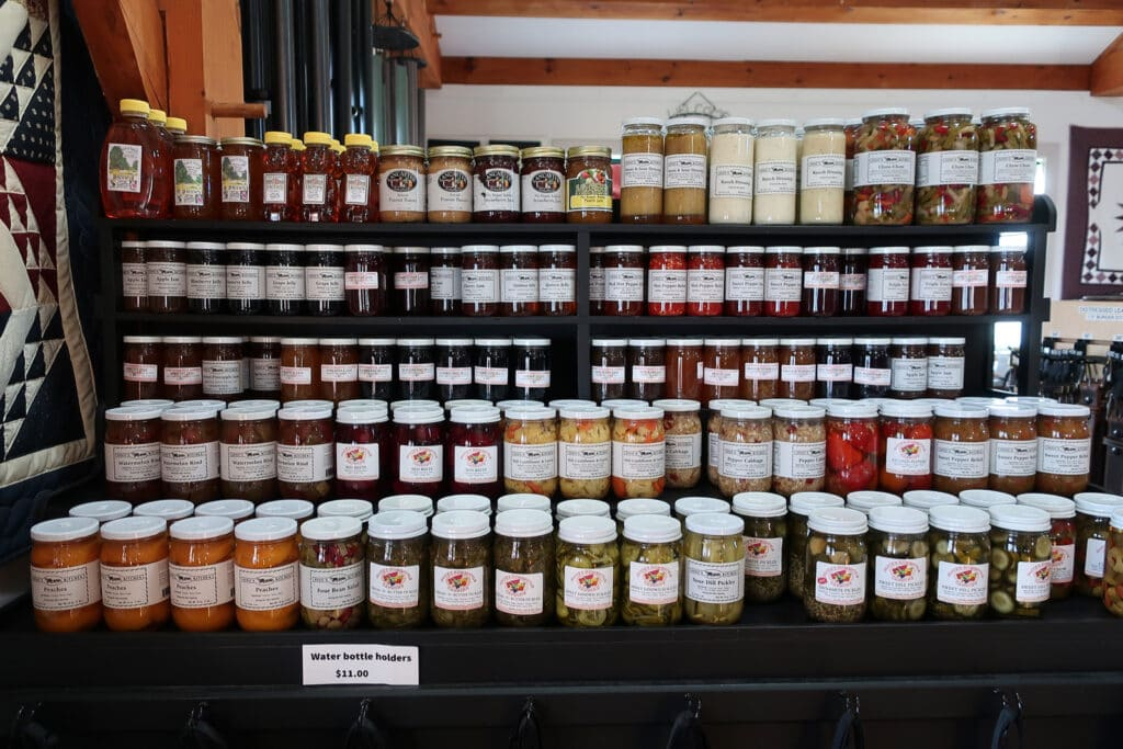 Amish-Food-In-Jars-Riehls-Quilts-Crafts-Leola-PA