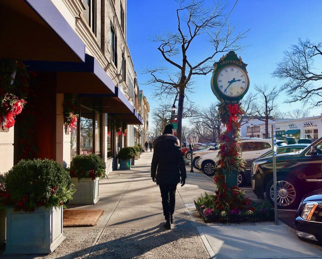 Greenwich-Ave-Clock-Greenwich-CT