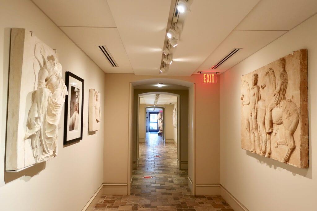 Cast-Corridor-Fairfield-U-Art-Museum-CT