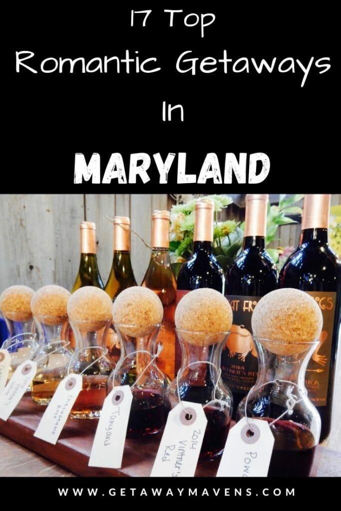 17 Top Romantic Getaways in Maryland pin