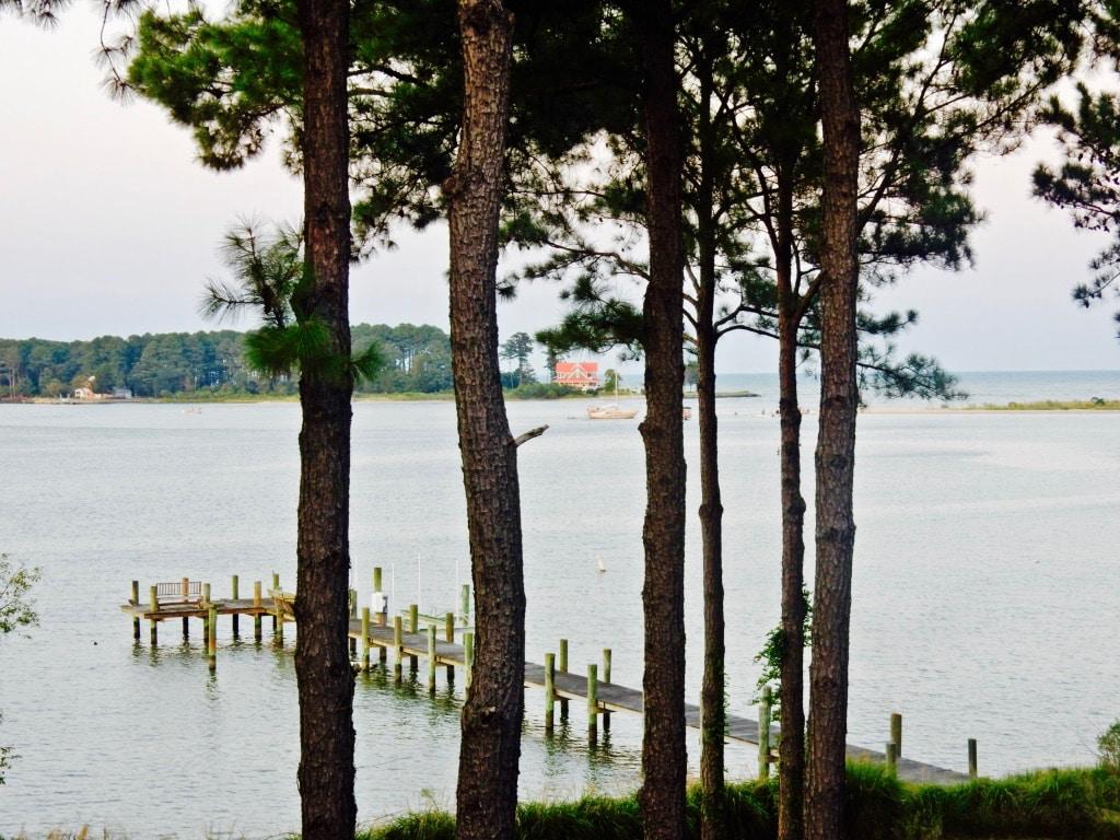 View of water from Swanendele Inn Ridges MD St. Marys County