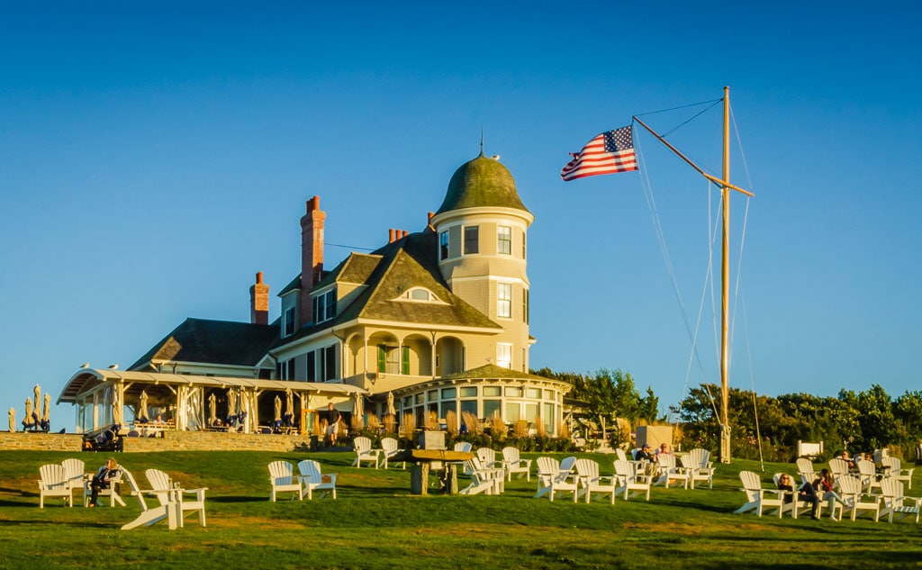 Castle Hill Inn in Newport RI