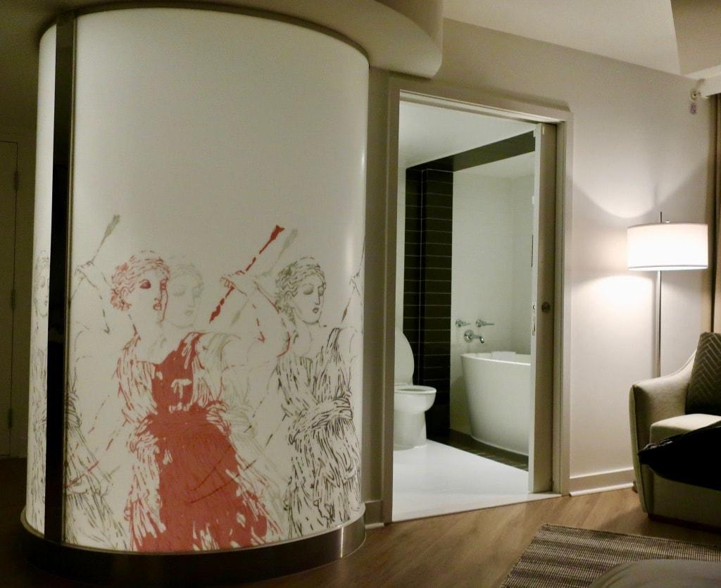 Bathroom Hotel Zena DC
