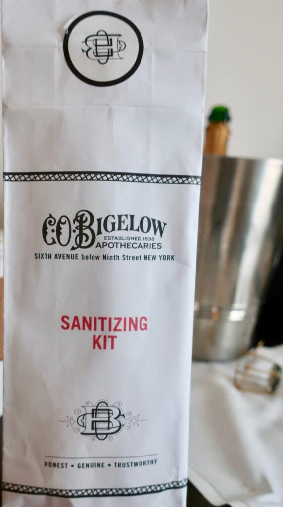 Bigelow Sanitizing Kit Langham Hotel NYC