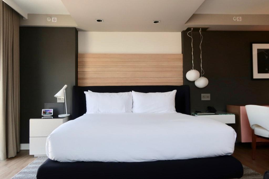 Romantic Hotel DC Hotel Zena Guestroom