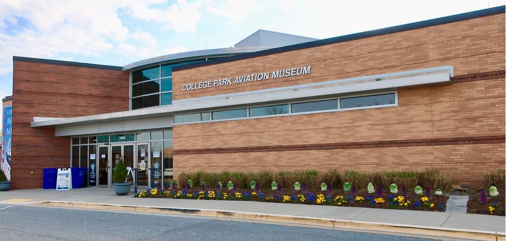 College Park Aviation Museum exterior