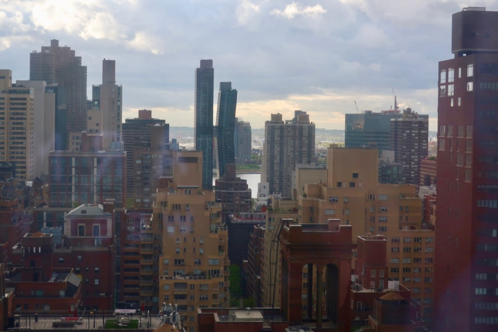 East River View from Langham Hotel Room 2503