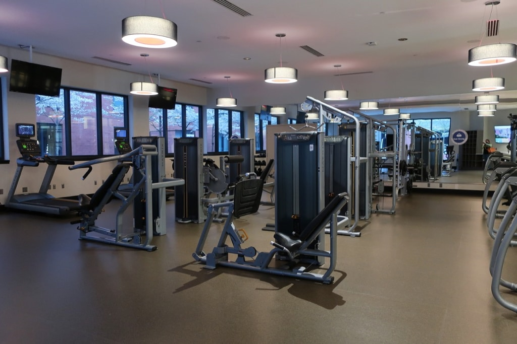 Fitness Center The Hotel at College Park MD