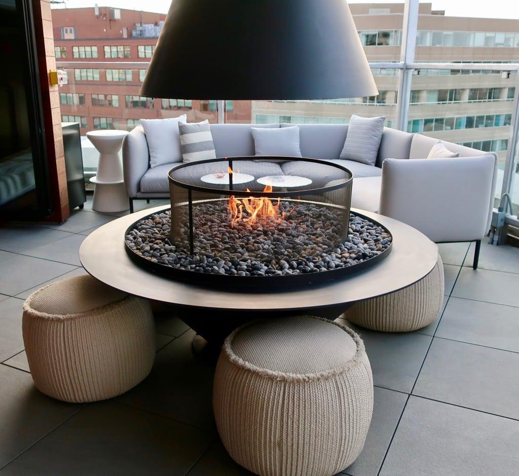 Hotel Zenas Romantic Rooftop Lounge DC