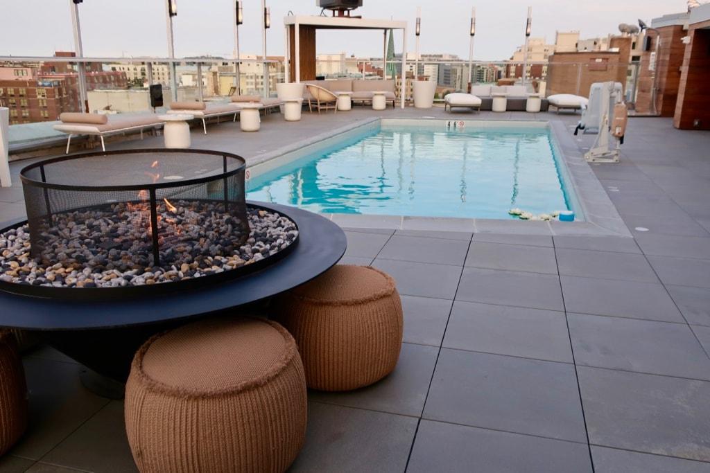 Hotel Zena Rooftop Pool DC