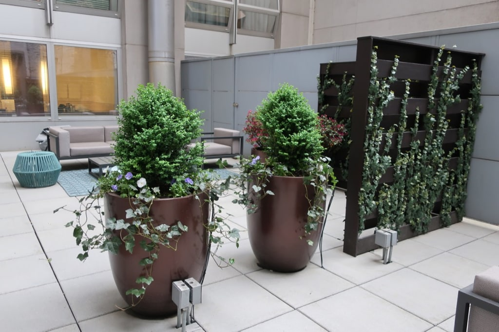 Private Patio The Langham NY