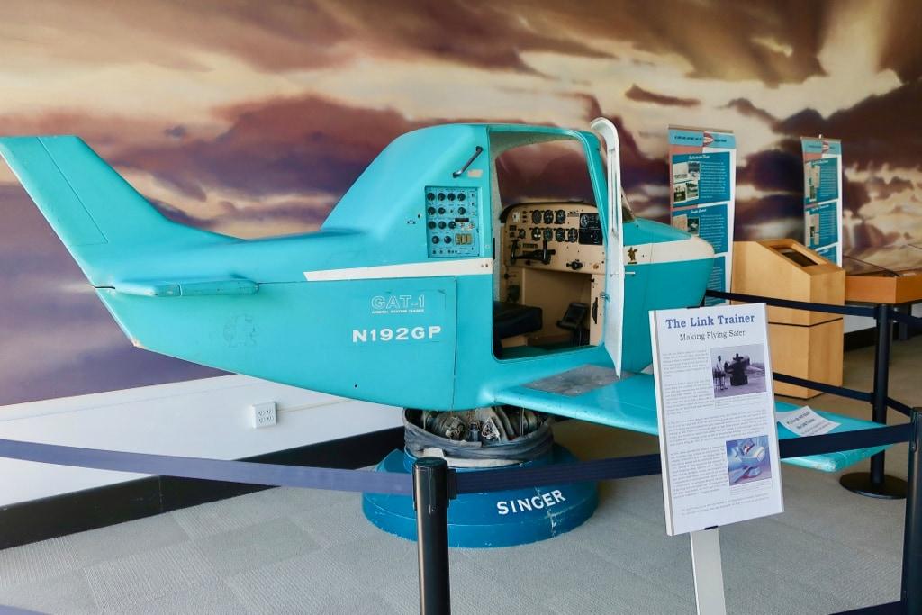 Link Trainer Flight simulator College Park Aviation Museum MD