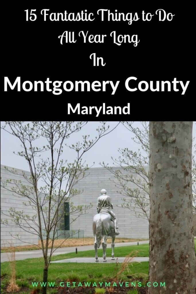 Coolest things to do in Montgomery County MD pin