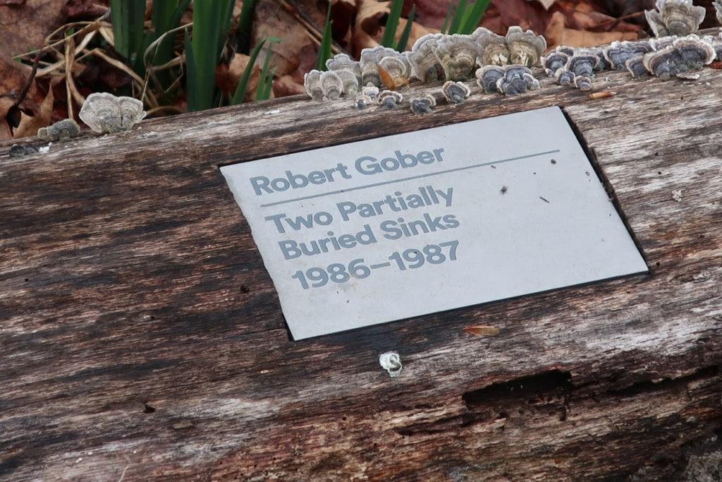 Robert Gober Sign Glenstone Potomac MD
