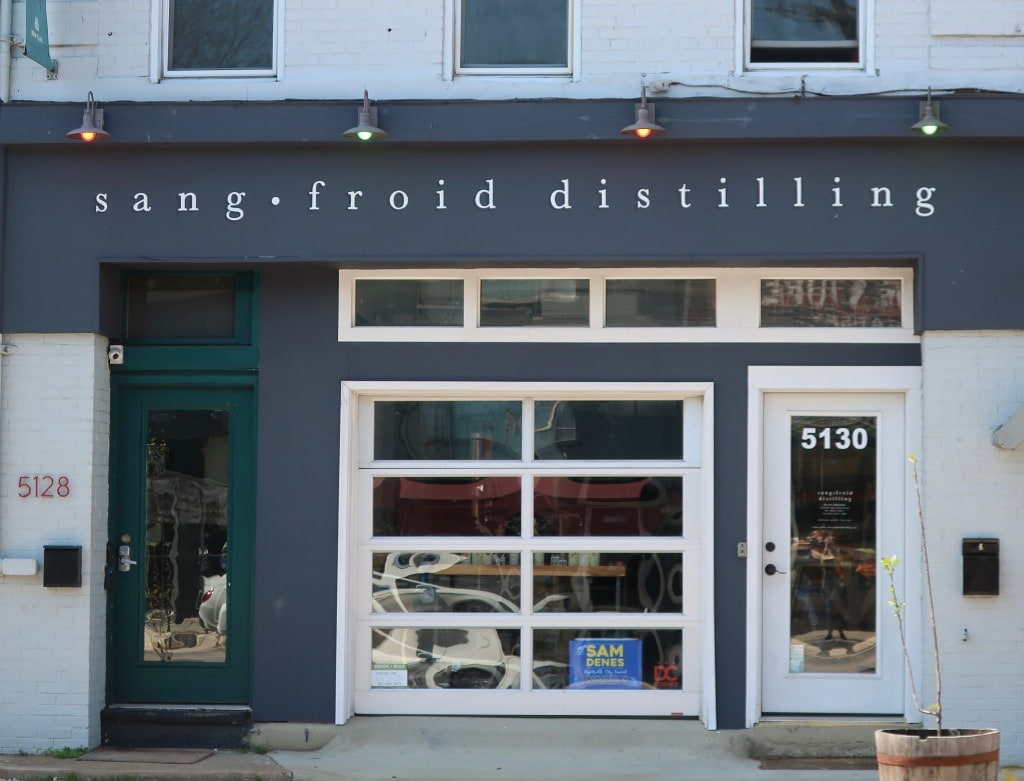 Sangfroid Distilling Hyattsville MD