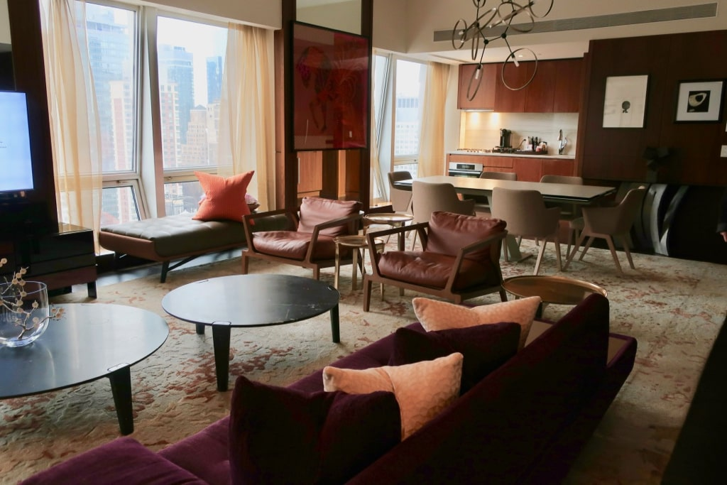 Top Suite at The Langham NY designed by Roche Bobios