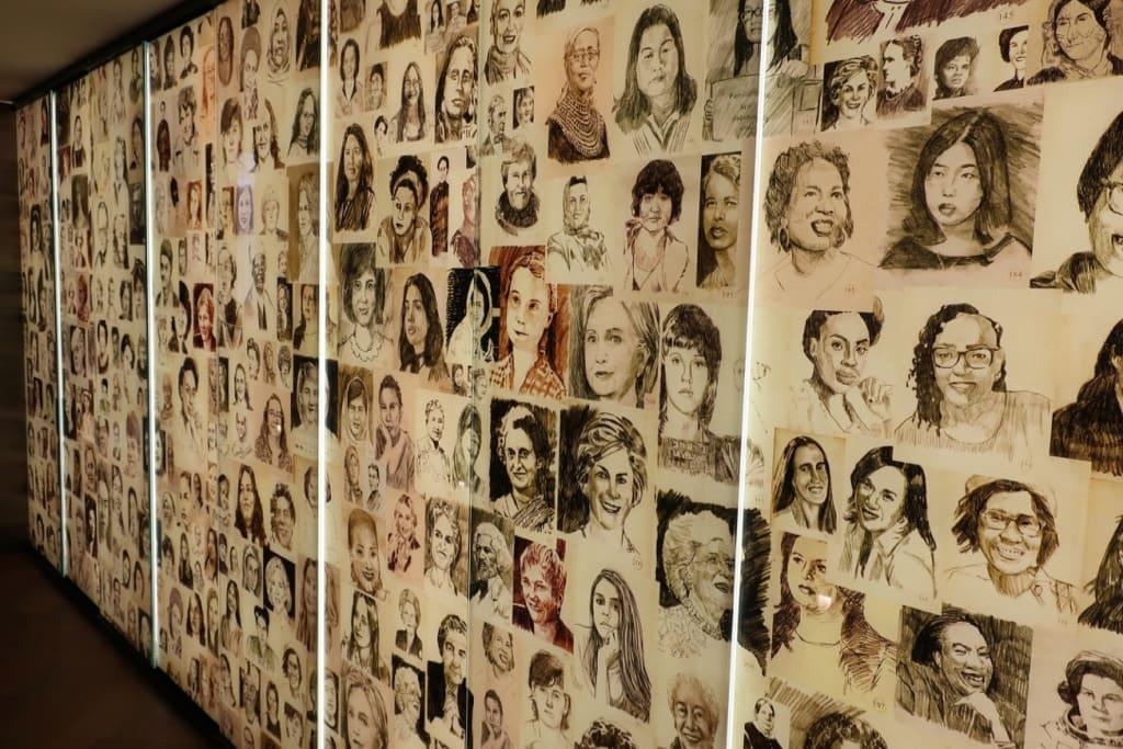 Womens Wall of Honer Hotel Zena DC