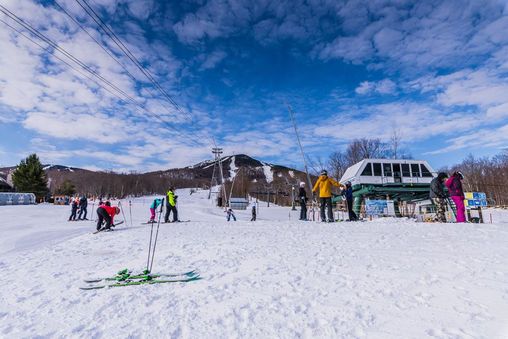 Jay Peak Metro Quad chair lift