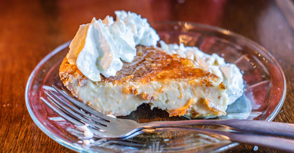 Maple Cream Pie at The Belfry in Vermont.
